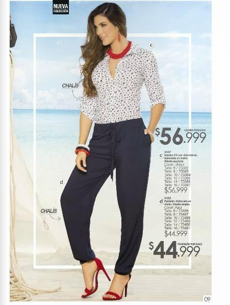 pantalon y camisa Carmel C-4 2015