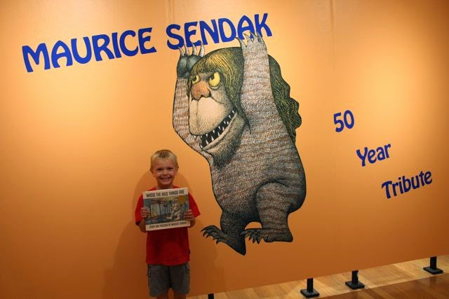 Maurice Sendak activity via www.happybirthdayauthor.com