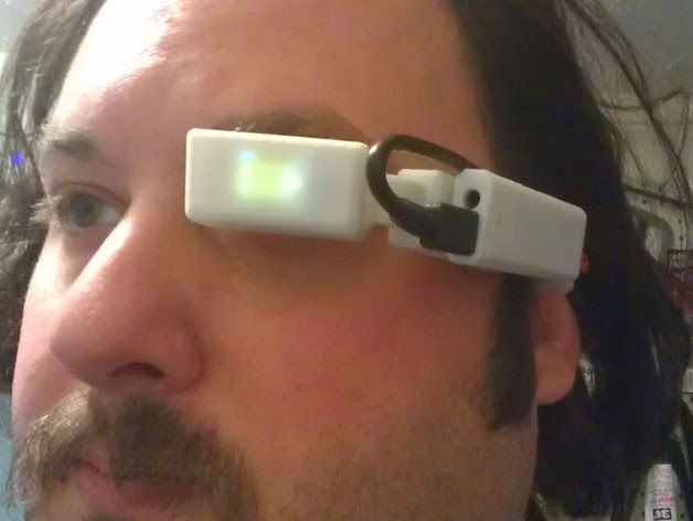 D Printed Google Glass