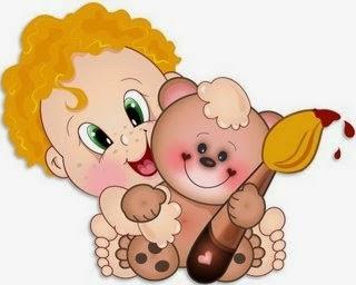 mimos e encantos da educaÇÃo bebÊs desenhos coloridos