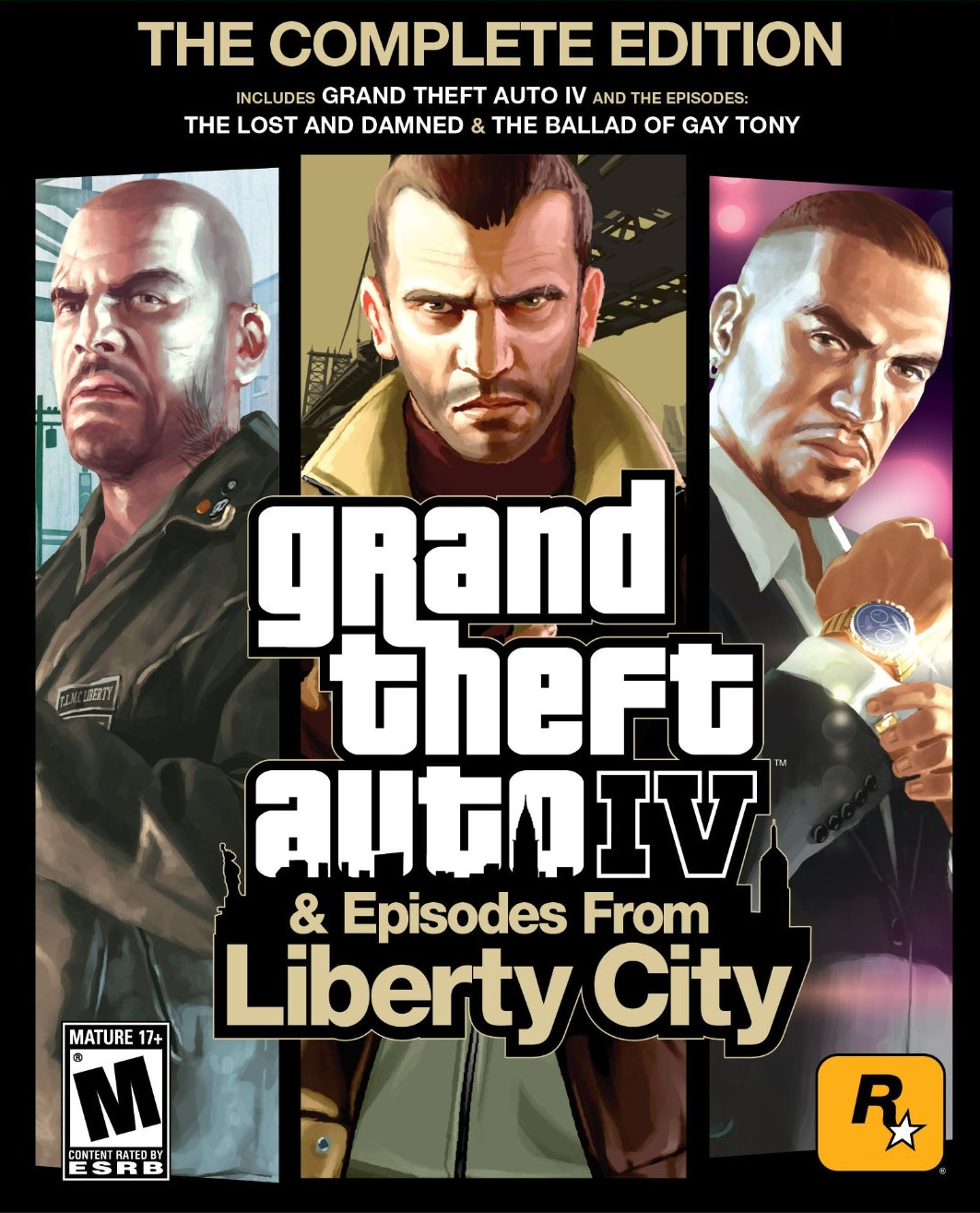 GTA 4 Episodes From Liberty City Cover