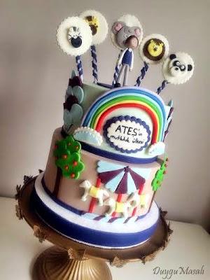 edirne çocuk doğum günü pastası