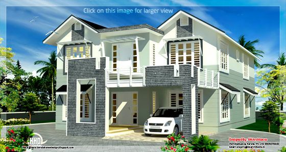 2800 sqft. villa design 2