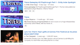 YouTube Search Check Triera