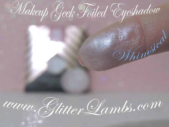 "Makeup Geek Foiled Eyeshadow  ""Whimsical"" Review"