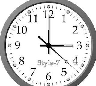 ce insemna cand te uiti la ceas si e ora fixa