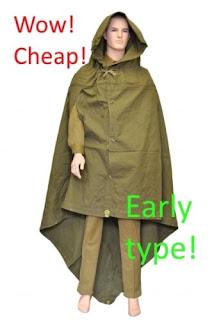 Wow!Cheap! Plash Palatka EARLY TYPE! Russian Military Rain Tent Soviet Poncho