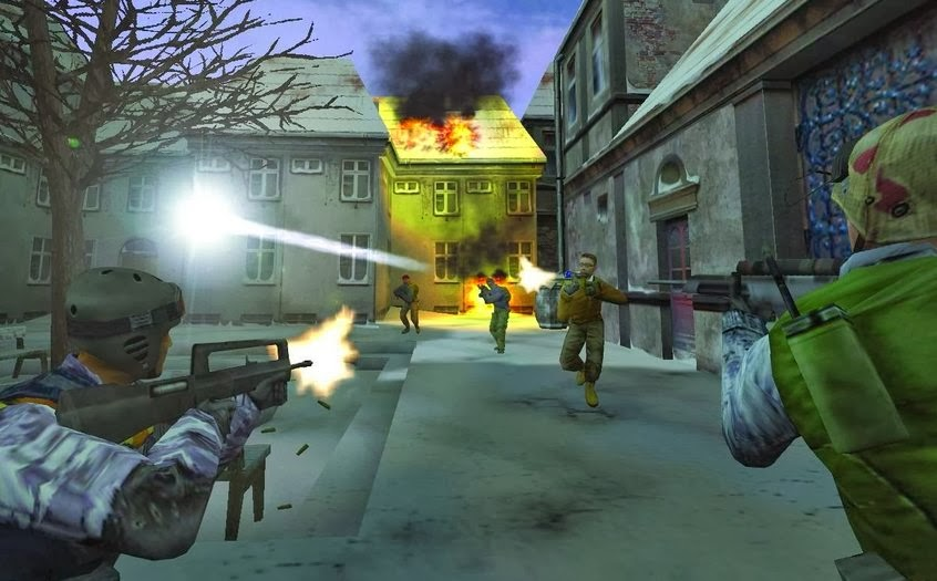 Gameplay Counter Strike Condition Zero for PC