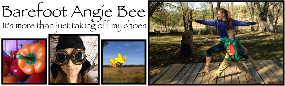 Barefoot Angie Bee