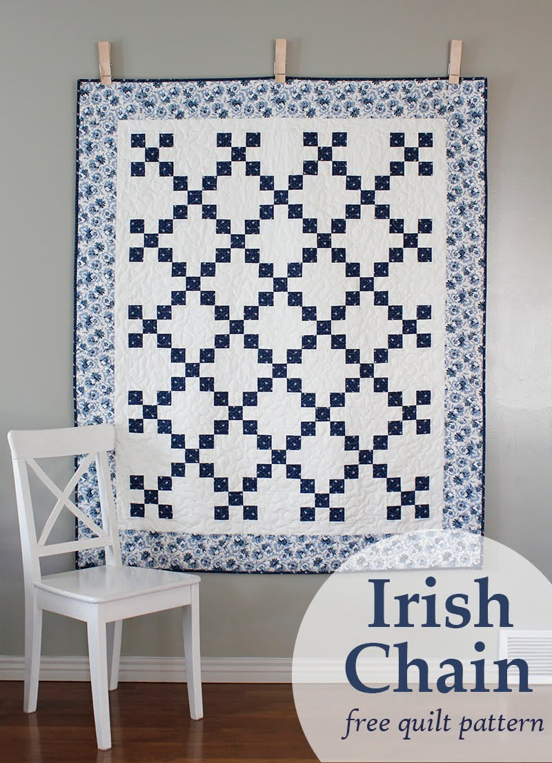 Irish Chain Quilt Pattern Magnificent Design Ideas