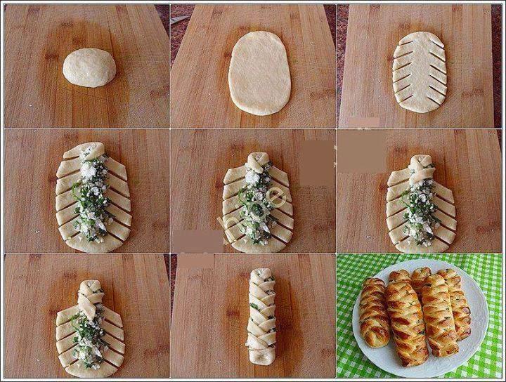 Как сделать красиво пироги - Ve-sim.ru