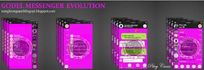 BBM MOD Godel Messenger Evolution Apk Ubdate 2.8.0.21