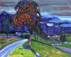 Outono em Murnau, Kandinsky (1908)