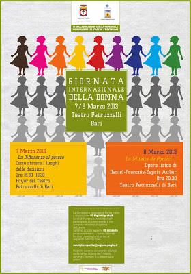 A Bari, per l'8 marzo, ripensando i luoghi della politica