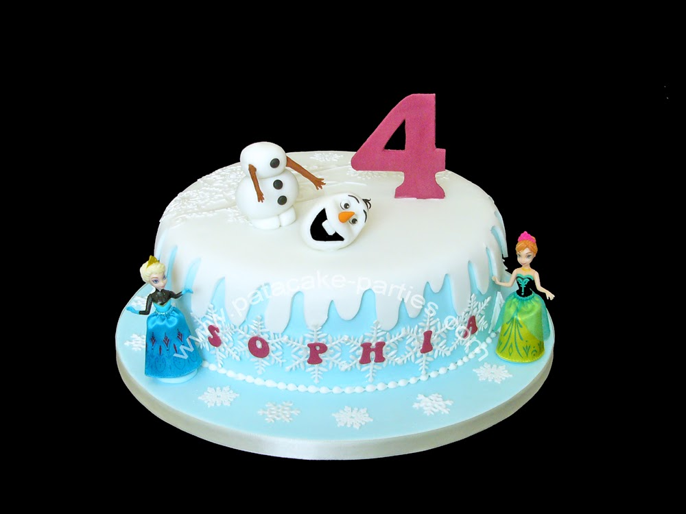 Pat-a-Cake Parties: Snowman Cake