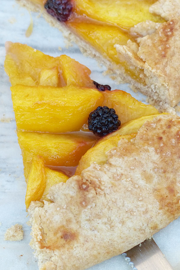 blackberry peach galette_S&V