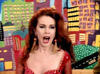 Shiny happy people. Kate Pierson. REM