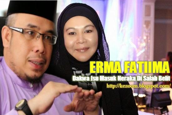 Erma Fatima Dakwa Isu Masuk Neraka Di Salah Belit