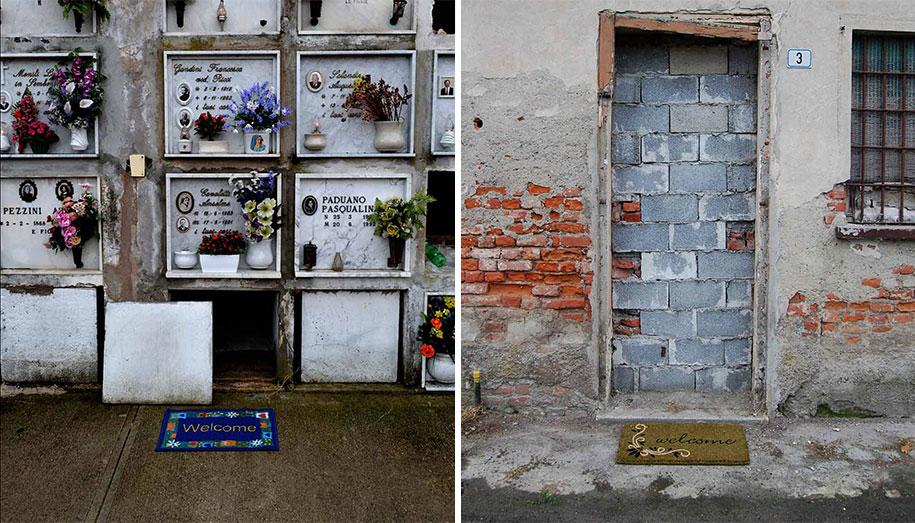 Intrigantes e criativas intervenções urbanas de Fra.Biancoshock
