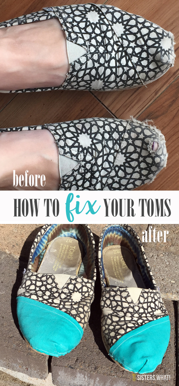How to fix your old Toms