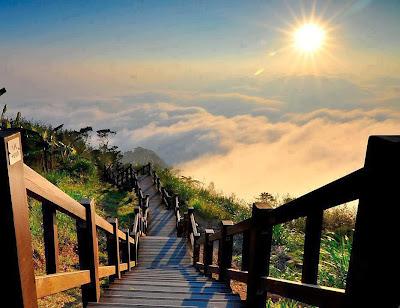 Escaleras hacia el cielo, Parque Nacional, Taiwan