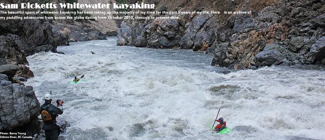 Sam Ricketts Whitewater Kayaking