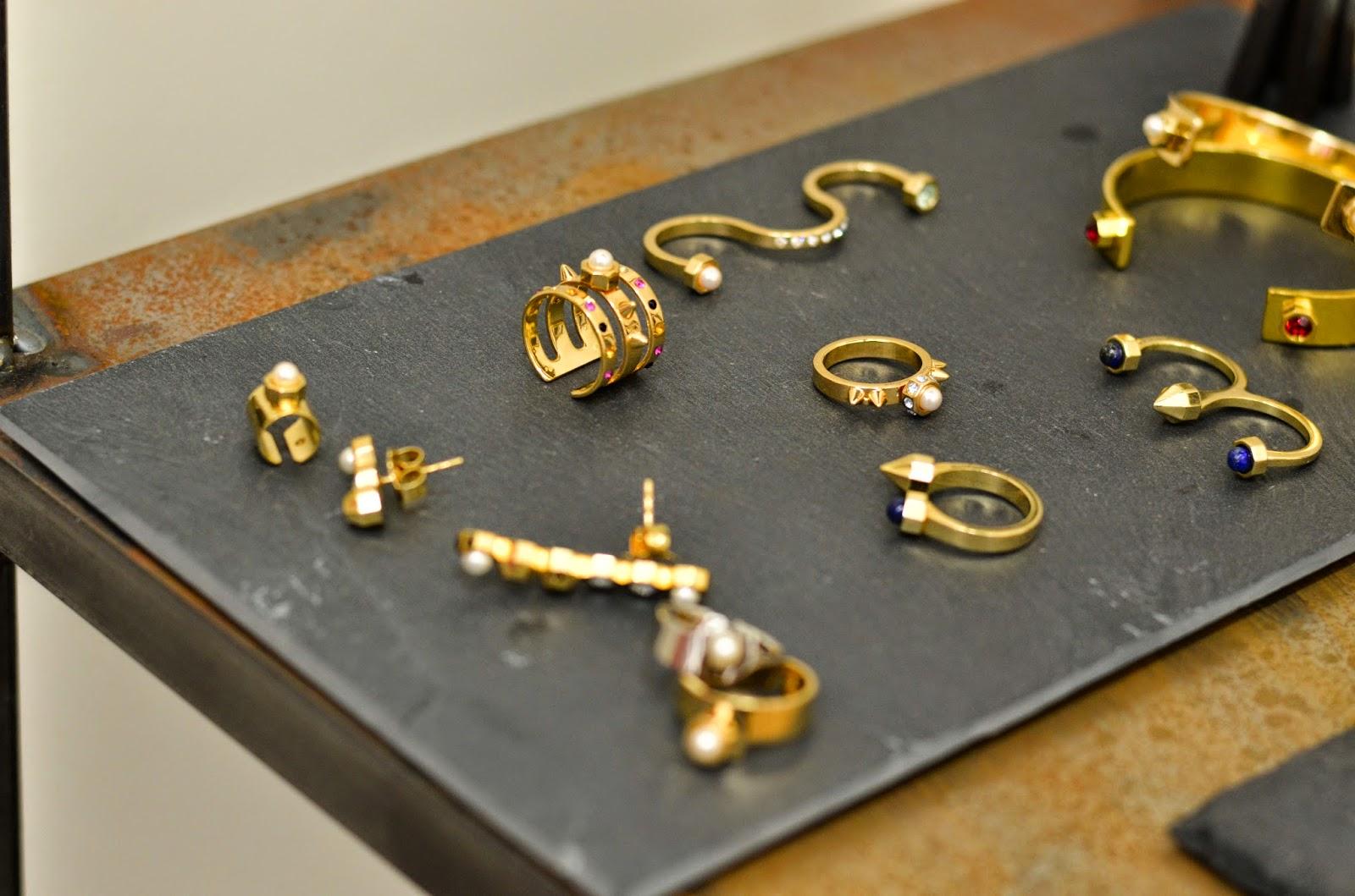 Maria Francesca Pepe gold rings