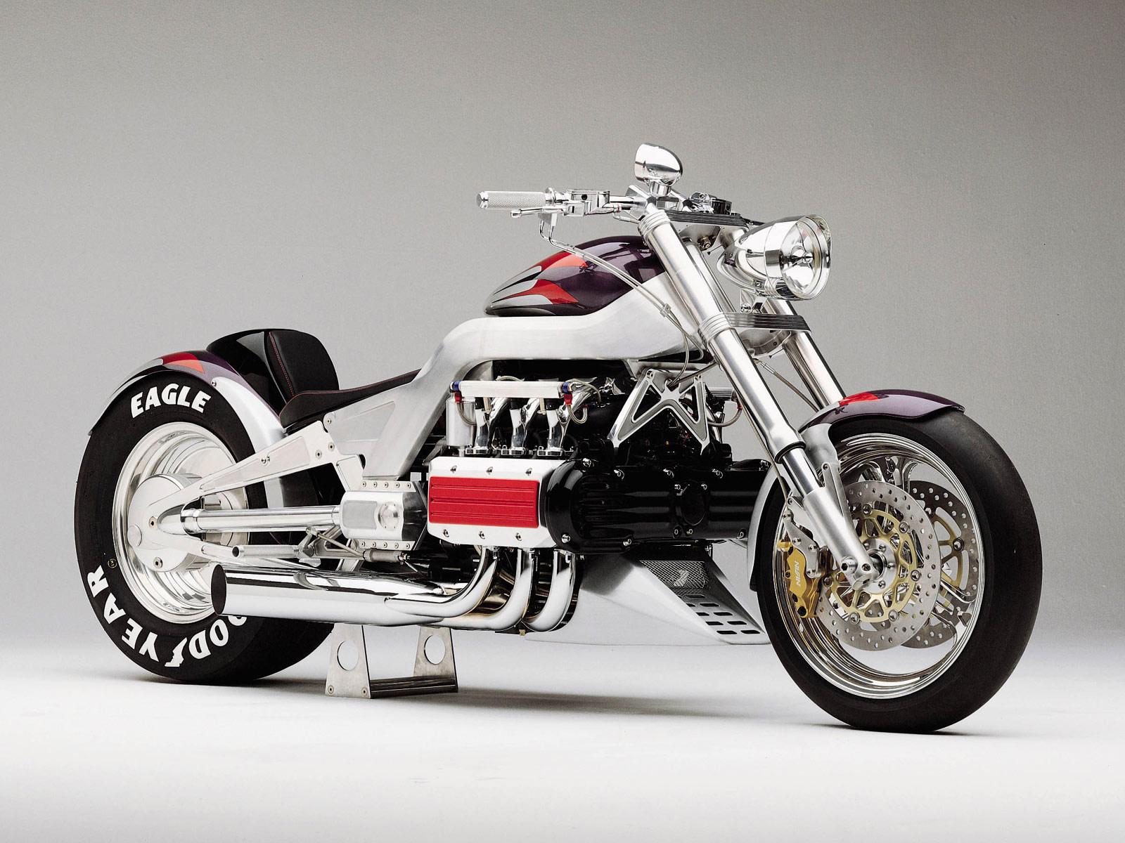 HONDA Wallpaper 2000 T4 Concept Motorcycle