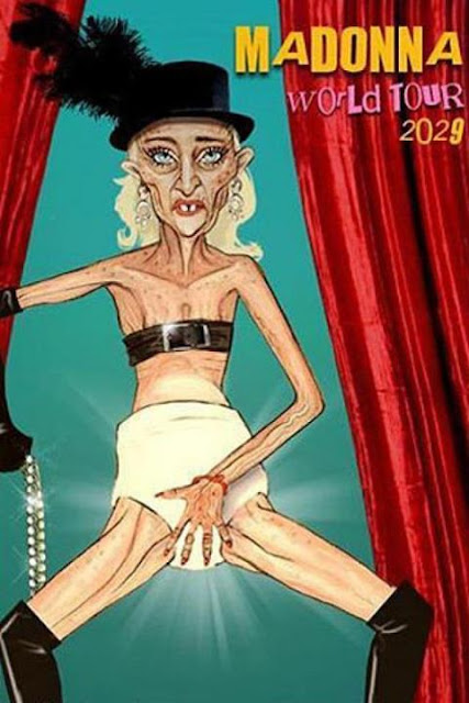 World Tour 2029 a geezer madonna