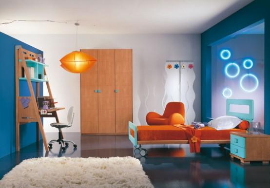 Decoraci n de interiores cuartos para ni os - Habitaciones pequenas para ninos ...