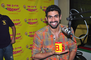 rana at radio mirchi
