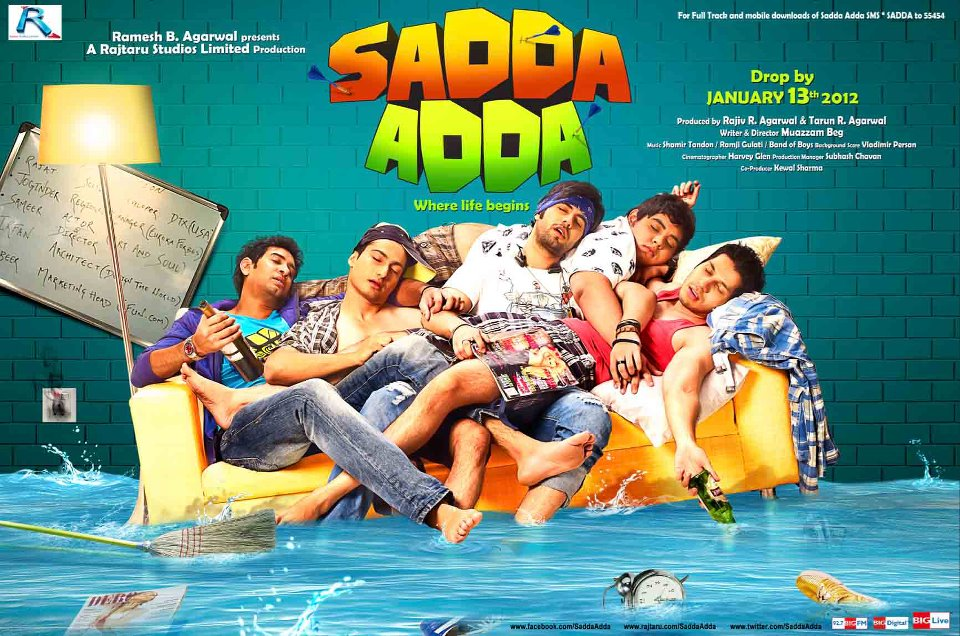 Sadda Adda (2012) Eng Sub – Hindi Movie DVD