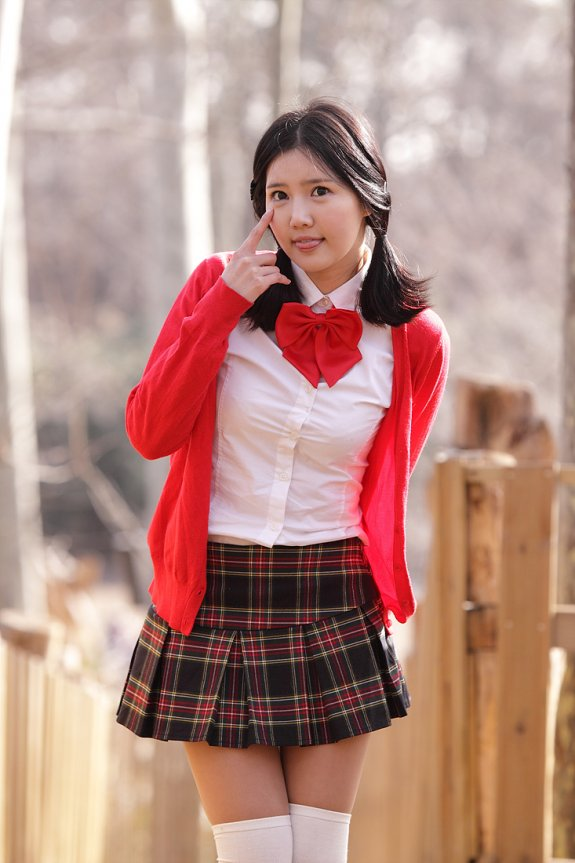 Seragam sekolah jepang 7-han-ga-eun