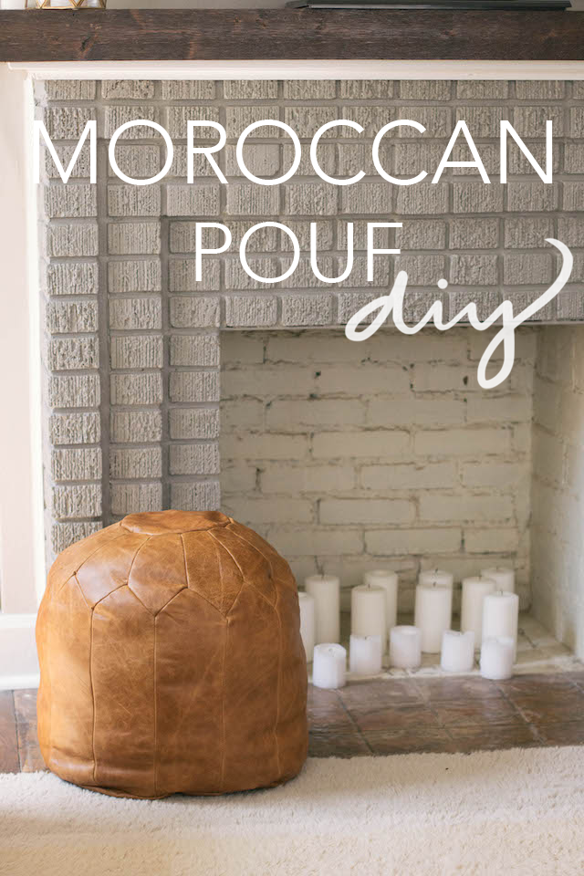 Always Rooney Moroccan Pouf DIY Cool How To Stuff A Moroccan Pouf