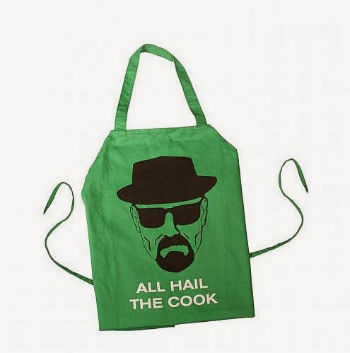 Delantal Breaking Bad All Hail the Cook