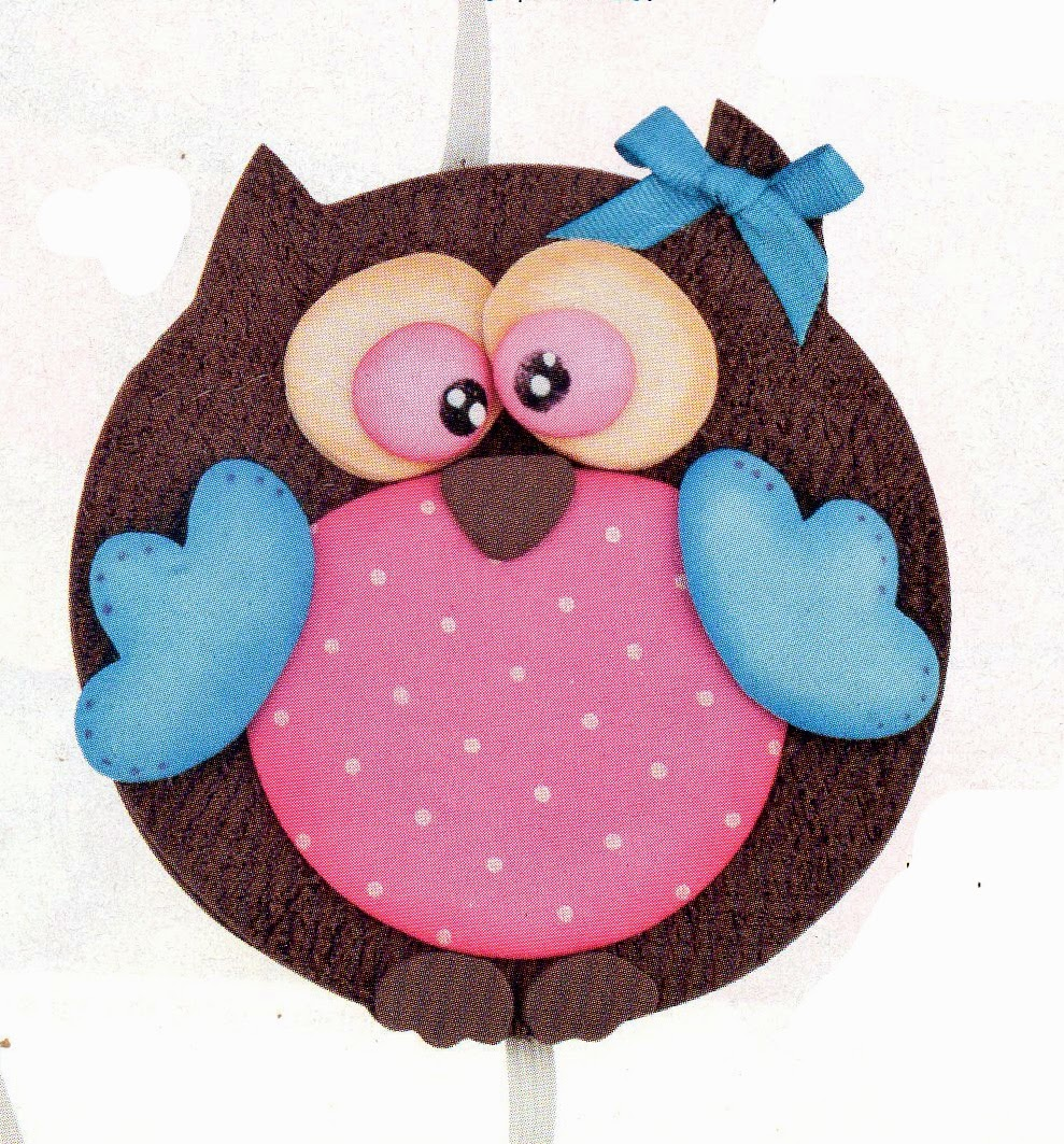 Manualidades escolares para decorar sujetador de cuadernos o carpetas - Figuras para decorar ...