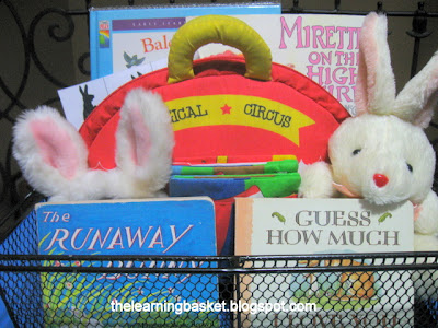 the runaway bunny learning basket