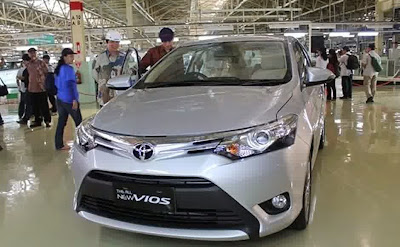 Toyota Vios pun menjadi primadona ekspor karena mampu mencatat rekor penjualan tertinggi dengan naik hingga tiga kali lipat