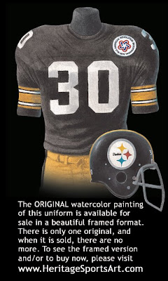 Pittsburgh Steelers 1975 uniform