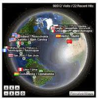 Cara Memasang Statistik Bola Dunia / Globe di Blog