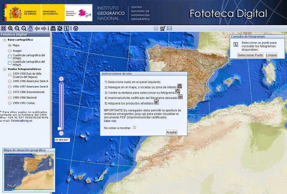 Cartografía Digital: Nuevo vuelo en Fototeca Digital IGN.