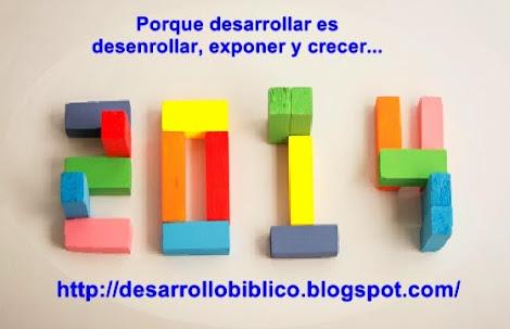 Visita el Blog desarrollo biblico