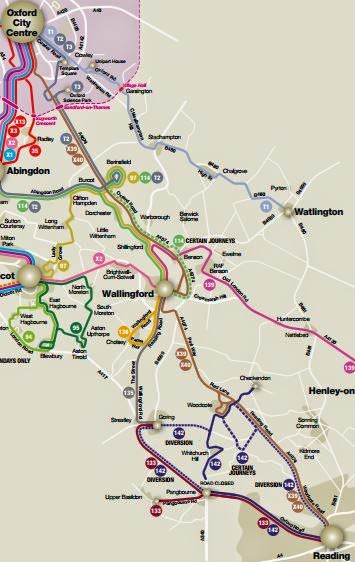 route to reading