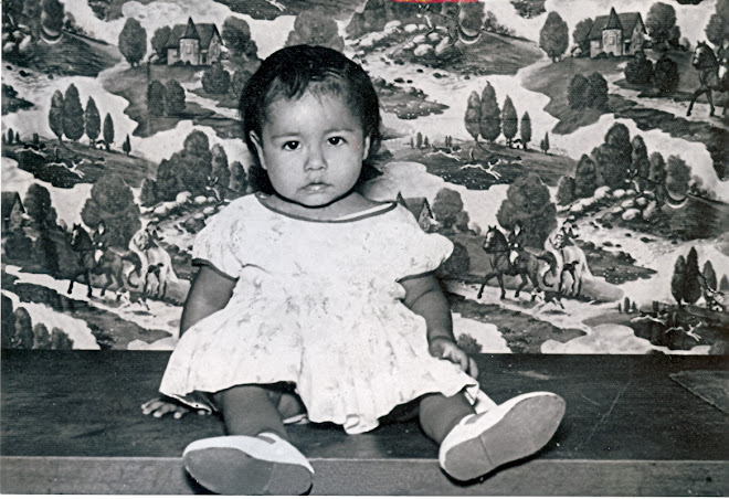 Esta es una foto que me tomaron en mi infancia