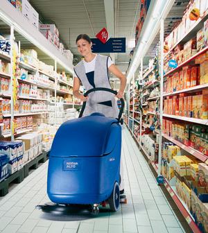 Floor Scrubber HSS Hire