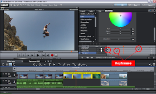 Keyframe Video Editing