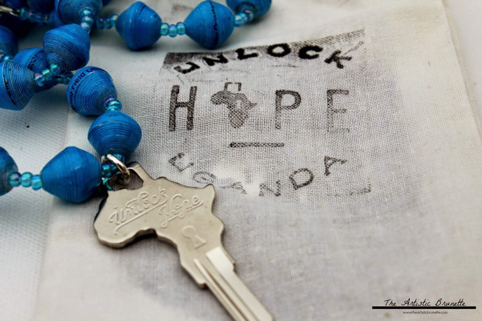 Unlock Hope Key Necklace