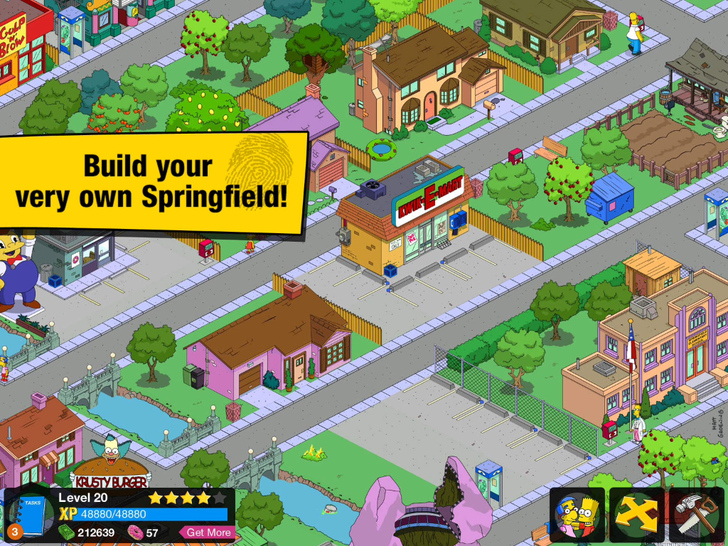 The Simpsons: Tapped Out App iTunes App By Electronic Arts - FreeApps.ws