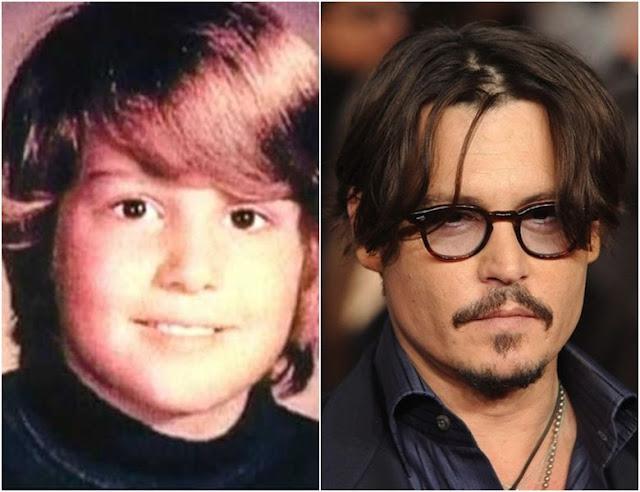 Foto de famosos quando crianças