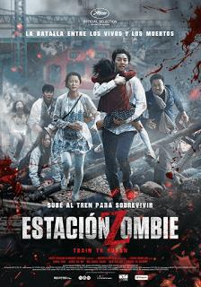 Poster de Invasión Zombie / Estación Zombie: Tren a Busan / Train to Busan